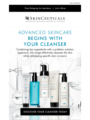 Advanced Skincare Begins With Your Cleanser