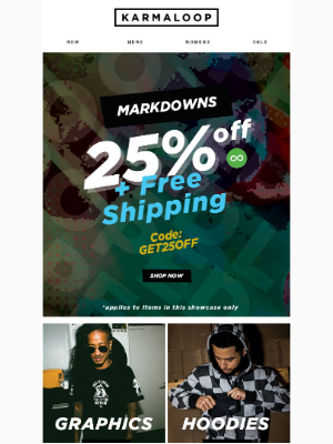 Monday Markdowns » 25% OFF