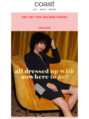 Coast Stores (UK) - Up to 70% off party-ready pieces