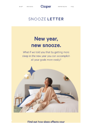 PSA: You only need one resolution this year.