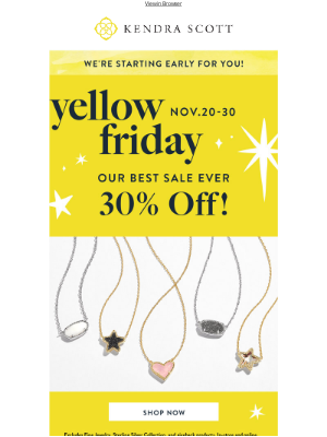Kendra Scott - Our BEST SALE EVER Starts Now. ✨