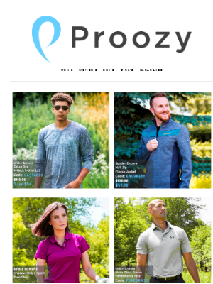 Proozy - Under Armour V-Neck 3 for $54!
