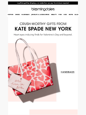 Cupid-approved gifts from kate spade new york