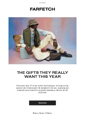 Farfetch - Your ultimate boutique gift guide