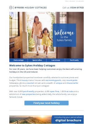Sykes Cottages UK - Welcome to Sykes Holiday Cottages