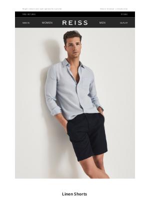 Reiss - Wardrobe Update: Linen Shorts