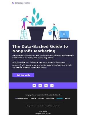 Here's a guide to nonprofit marketing.