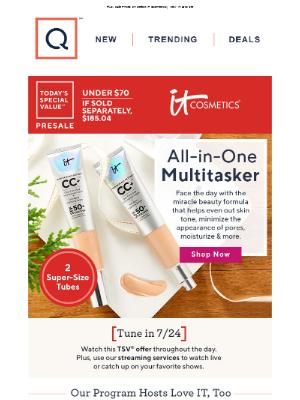 QVC - Under $70 & Ships Free! IT Cosmetics CC Cream Duo