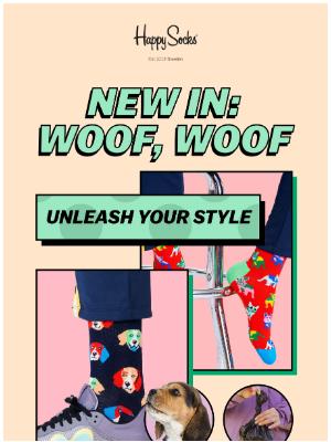 Happy Socks - New in: Dogs, dogs, dogs! 🐶 🦴