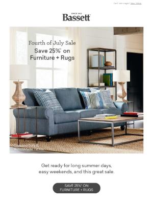 Bassett Furniture Industries - The Celebration Starts Now!