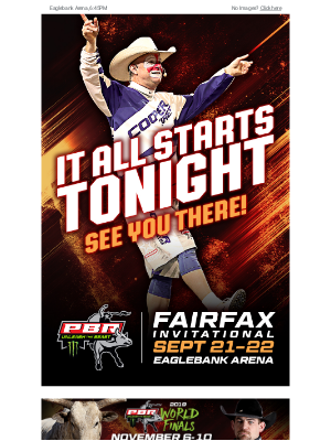 The Dirt is loaded, the Bulls are here, and it all starts tonight…see you there!