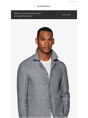 Suitsupply - Online Exclusive: The Shirt Jacket