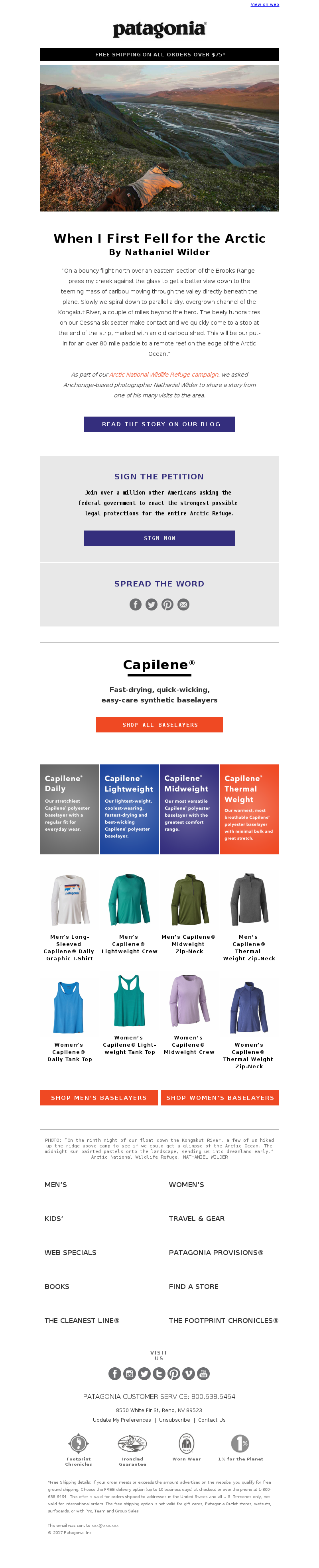 Plus, fast-drying, quick-wicking, easy-care Capilene baselayers. View on we