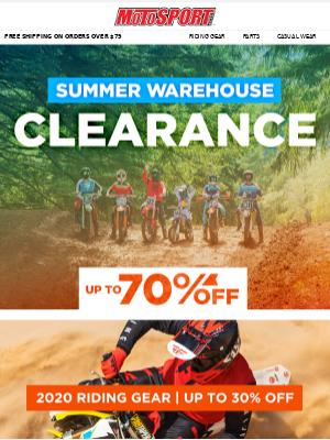 Top Summer Riding Gear Deals