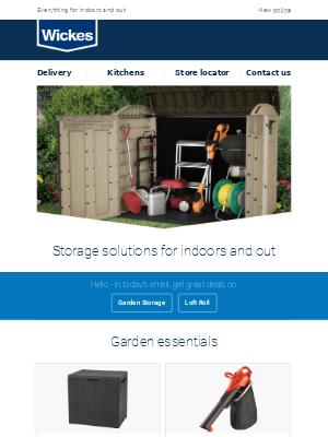 Wickes UK - It's time for an Autumn tidy up
