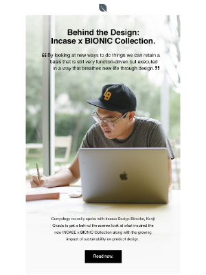 Incase - Behind the Design: Incase x Bionic Collection