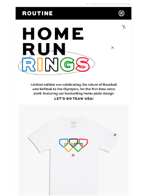Routine Baseball - Home Run Rings