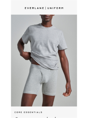 Everlane - Uniform: Core Essentials