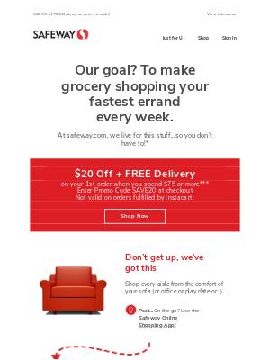 Safeway - Meet your new fastest errand!