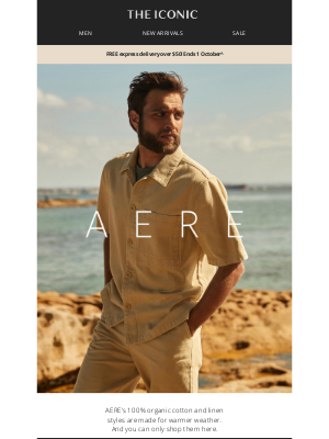 THE ICONIC AU - New and exclusive linen separates