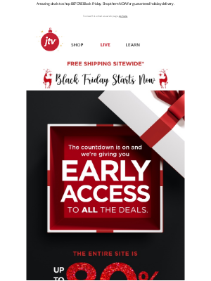 Jewelry Television - UNLOCK THESE BLACK FRIDAY DEALS.🔓