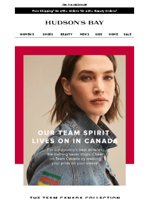 The Team Canada Collection x Levi's 🍁 Wear your support
