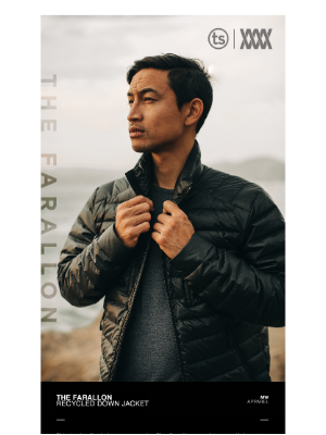 Mission Workshop - [Last Chance] The Farallon — Recycled Down Jacket // MISSION WORKSHOP x TAYLOR STITCH
