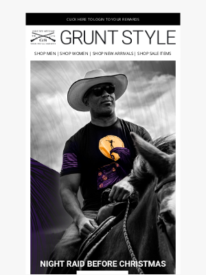 Grunt Style LLC - The Night Raid Before Christmas!