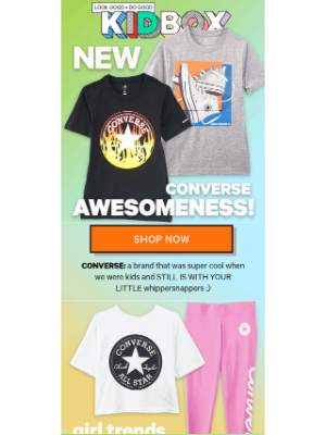 KIDBOX - 💖NEW CONVERSE AWESOMENESS! 💖