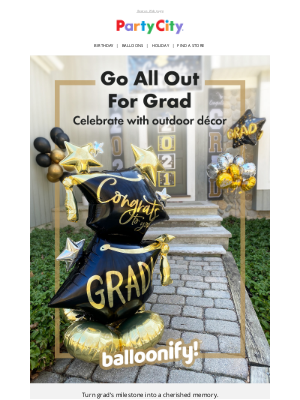 Party City - 🎓 Earn Your Diploma in Decorating