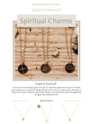 Judith Bright Jewelry - Spiritual Charms 🙏