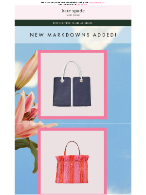 new markdowns alert❗and it's all up to 60% off