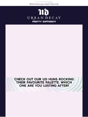 Urban Decay (UK) - Marcus, Get 40% OFF* eyeshadow palettes