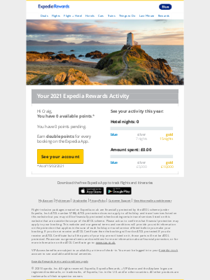 Expedia (UK) - Your account summary is enclosed