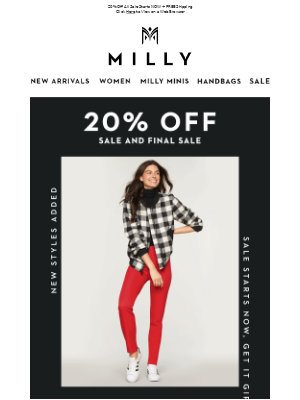 YOUR FAVORITE LOOKS - UP TO 80% OFF