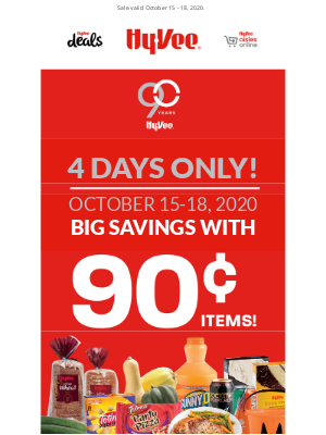Hy-Vee - Don't Miss 90¢ Deals! 😲