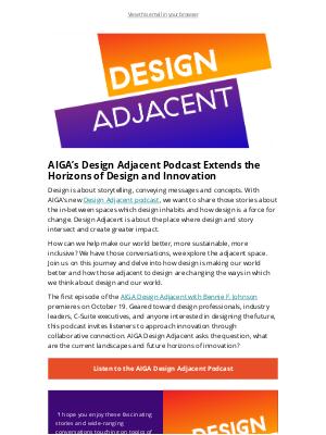 AIGA - AIGA Design Adjacent Podcast