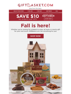 Gift Basket - Fall baskets you never knew you needed 🍂