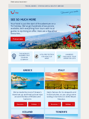 TUI (UK) - Holidays are just the start of the story...