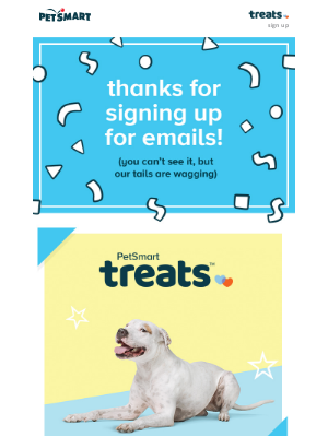PetSmart - Thanks for signing up!
