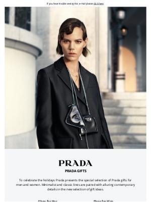 Prada - Holiday Gift Ideas