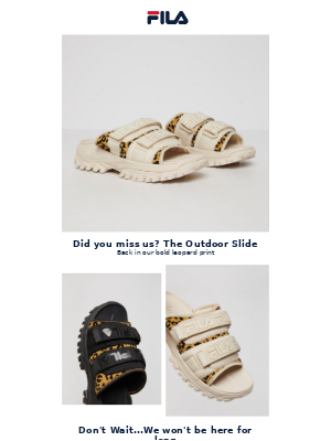 Back In Stock: Outdoor Slides