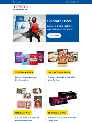 Tesco (UK) - Check out exclusive deals for Clubcard members, Jennifer