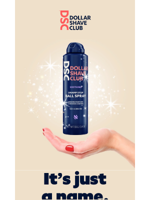 Dollar Shave Club - 🆕 Ladies, this spray will save your summer!