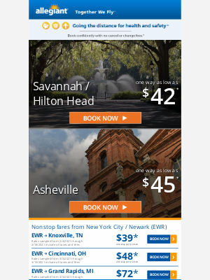 Allegiant Air - Fly into the new year | Fares starting at $39