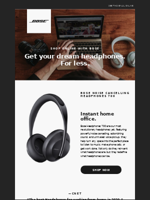 Your dream headphones are just a click away