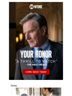 Showtime Networks - Uncover the cover-up in Your Honor