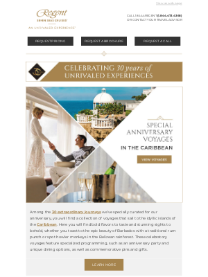 Regent Seven Seas Cruises - Celebrate With Us in the Caribbean