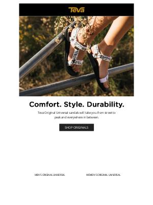 Teva - Best for: Stylish all-day wear