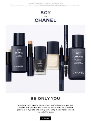 BOY DE CHANEL. The makeup and skincare line for men.